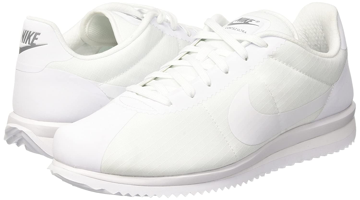 new style 4018a f9ef4 Nike Men's Cortez Ultra White/White Cool Grey Casual Shoe 9 ...