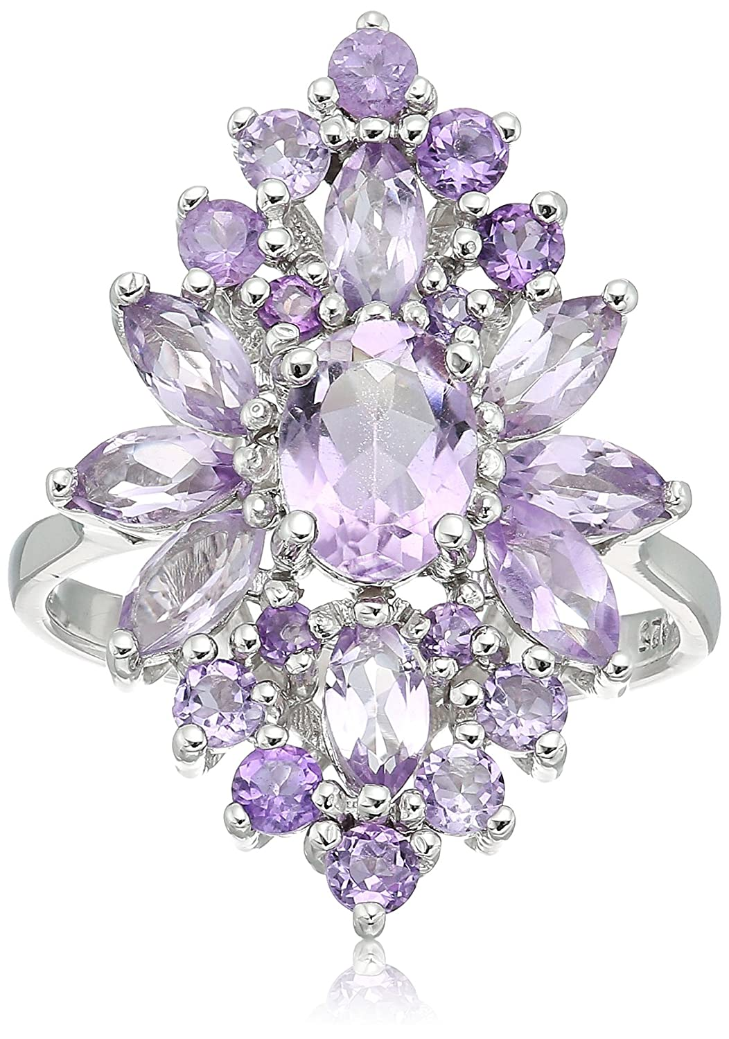Amethyst Cluster Ring, Size 9 RS2162AM-9