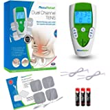 AccuRelief Dual Channel TENS Electrotherapy Pain Relief System and Universal Supply Kit …