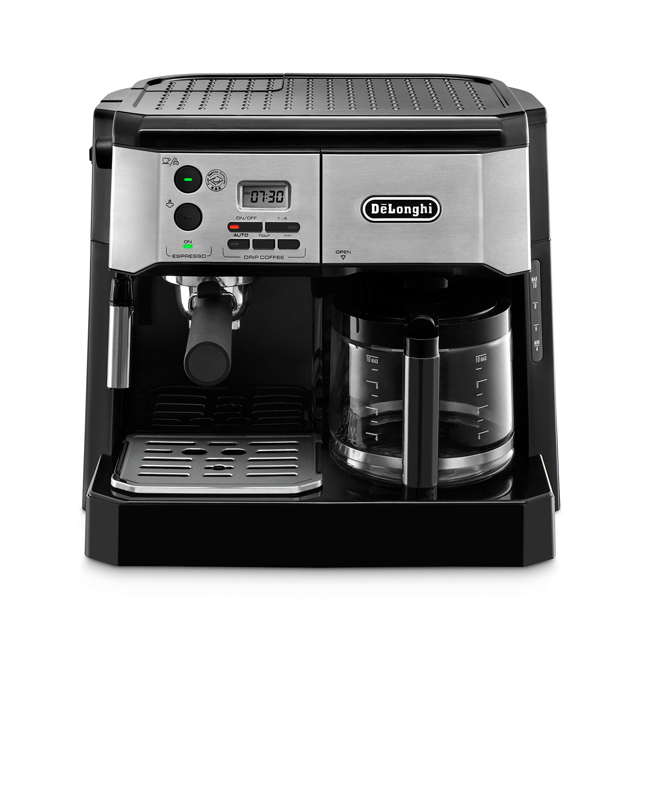 De'Longhi BCO430BM Combination Pump Espresso and 10c Drip Coffee Machine with Advanced Cappuccino System by De'Longhi (Image #1)