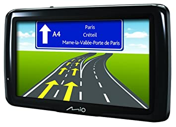 Mio Spirit  Gps Satelite Navigation System With Full Europe Maps Included