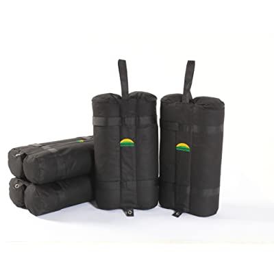 ECOLINEAR Weight Bag 4 Sets Easy Portable Premium Canopy Tent Sand Bags 4 Pack, Instant Legs, 40lbs: Sports & Outdoors