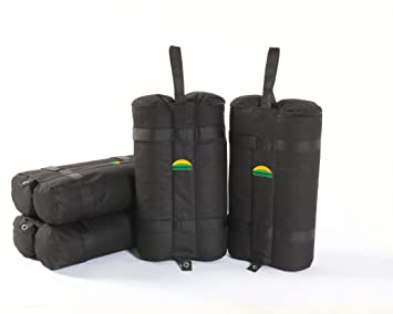Weight Bag 4 Sets Easy Portable Premium Canopy Tent Sand Bags 4 pack Instant Legs  sc 1 st  Amazon.com : canopy sandbags - memphite.com