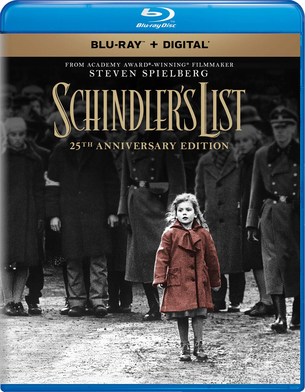 Blu-ray : Schindler's List: 25th Anniversary Edition (Anniversary Edition, 2 Pack, Digital Copy)