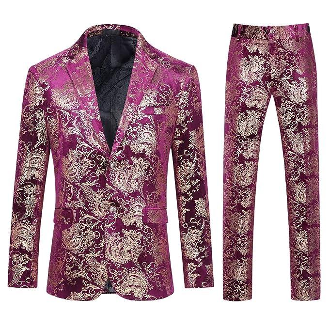 Amazon.com: Cloudstyle traje de vestir para hombre de un ...