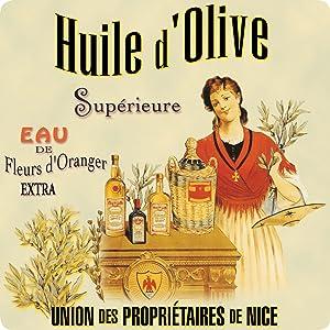 French Classics Glass Trivet huile d'olive