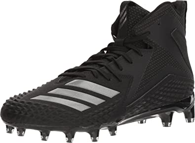adidas Men's Freak X Carbon Mid Football Shoe, Black/Black/Black
