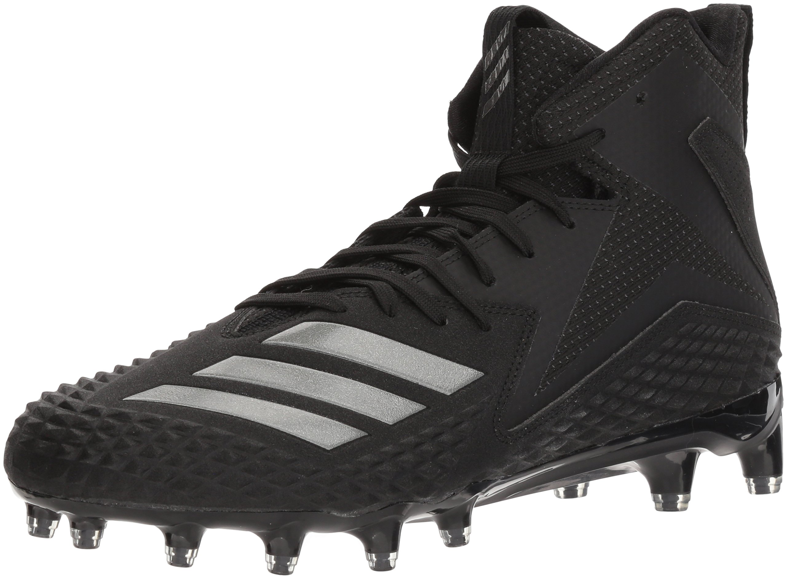 adidas Men's Freak X Carbon Mid Football Shoe, Black, 8 M US