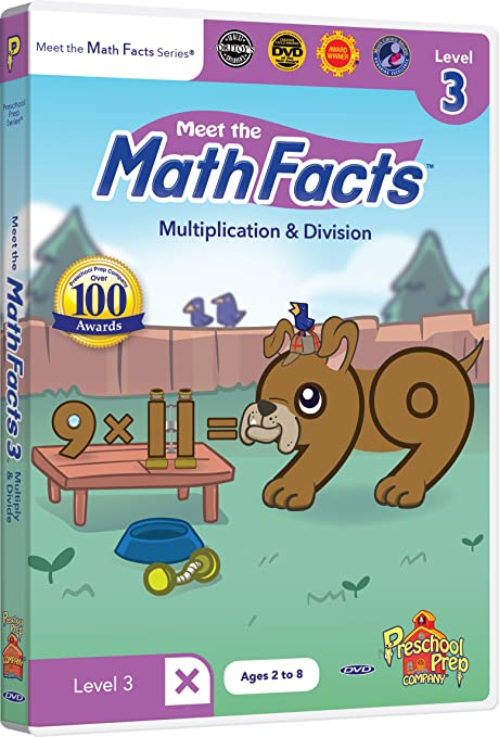 Amazon.com: Meet the Math Facts - Multiplication & Division Level 3 ...