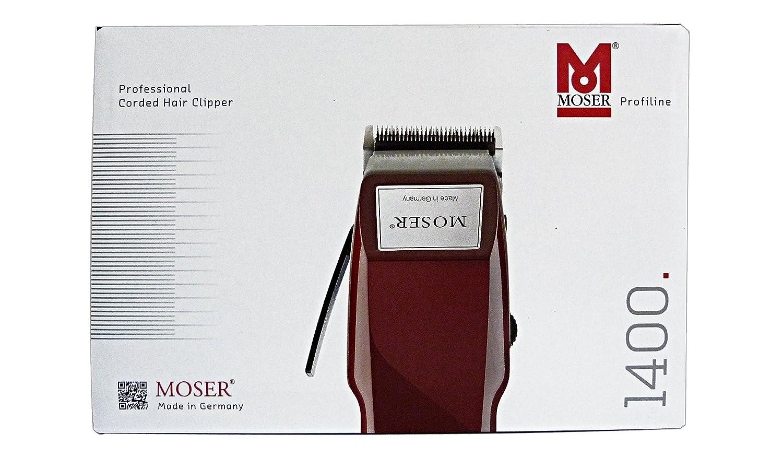 Moser Profesional 1400 - Máquina Cortapelos, 150 gr 1400-0278