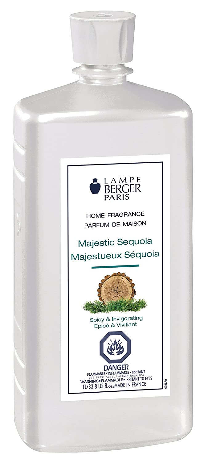 Amazon.com: Lampe Berger 1 Liter-Majestic Sequoia 1 Liter/33.8 Fl.Oz ...