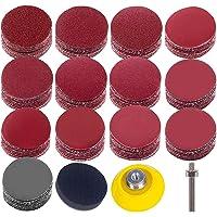 """Uspacific Baker Plate 1/4 """"Shank Sponge Cushions voor drill Grinder-precisiegereedschap (130 stuks)"""