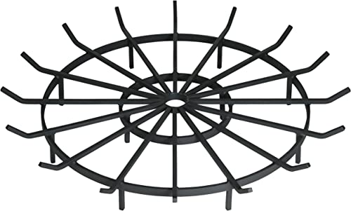 SteelFreak Wagon Wheel Firewood Grate