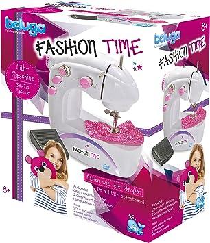 Beluga Spielwaren GmbH Nähmaschine für Kinder Beluga Spielwaren 31610 Fashion Time-Máquina de Coser Infantil: Amazon.es: Juguetes y juegos