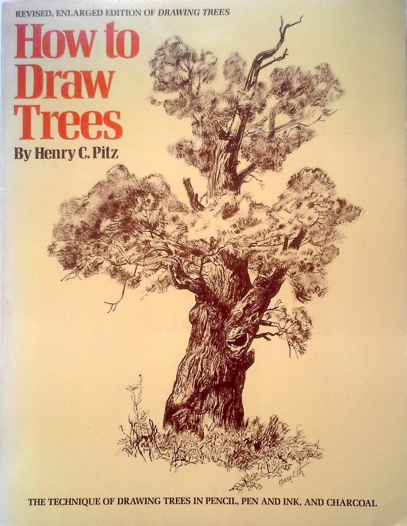 how to draw trees henry c pitz 9780823014422 amazon com books