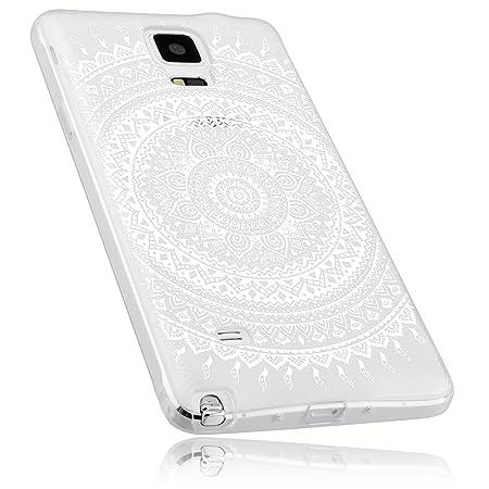 mumbi Schutzhülle für Samsung Galaxy Note 4 Hülle im Mandala Design