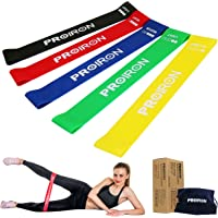 PROIRON Resistance Loop Bands, Exercise bands Set of 5 Rubber Latex Anti-Slip Resistance Band with 5 Different…