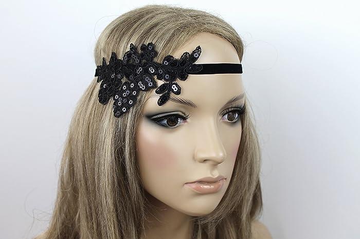 Haarschmuck Haarband Vintage 20er Jahre Flapper Stirnband