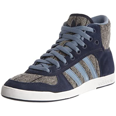 low priced ce6cd e4896 adidas Womens Adi Hoop 2 Mid D Kindy Pow BlueWhite Trainer G