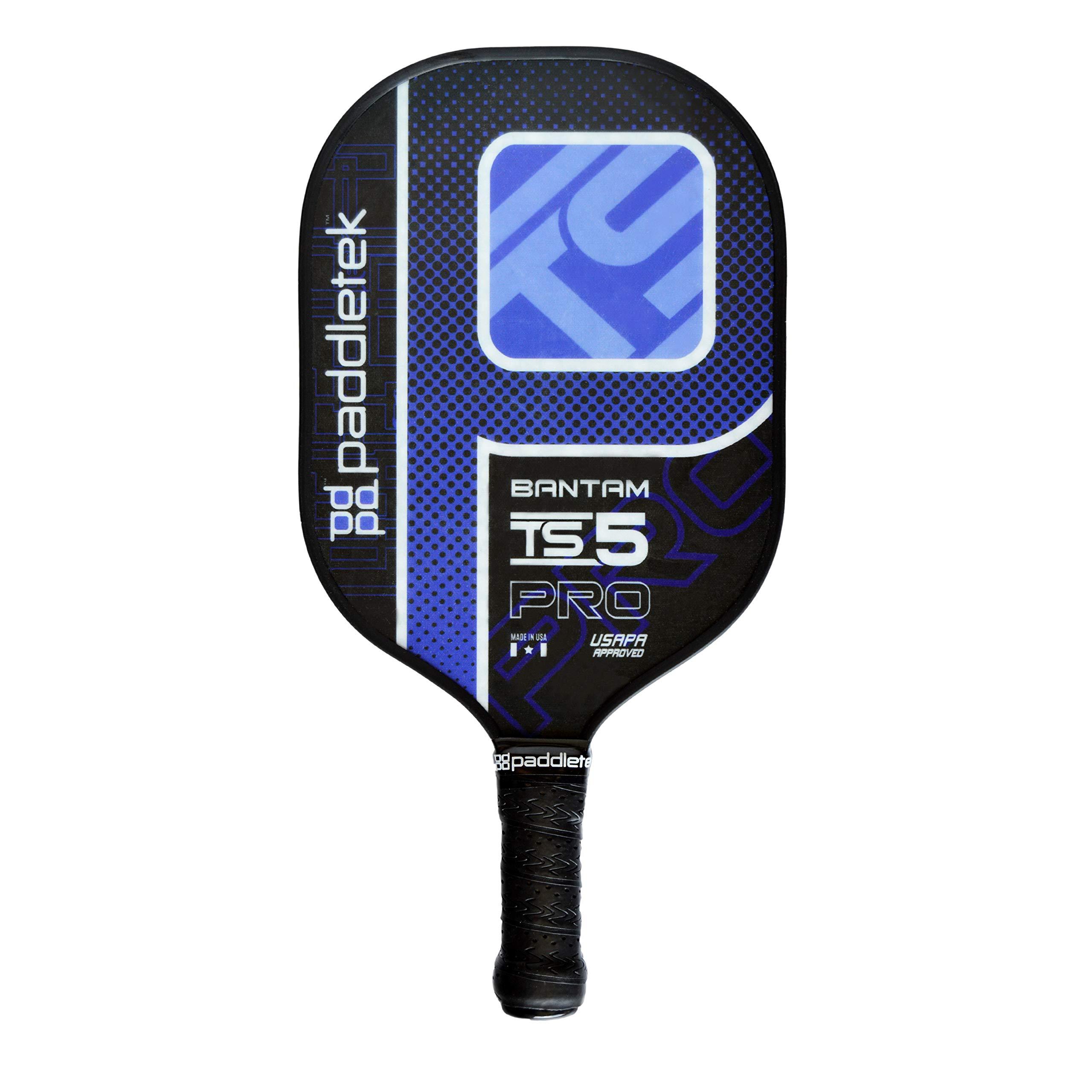 Paddletek Bantam TS-5 Pro Composite - Blue - Large (4 3/8'') - Standard Weight
