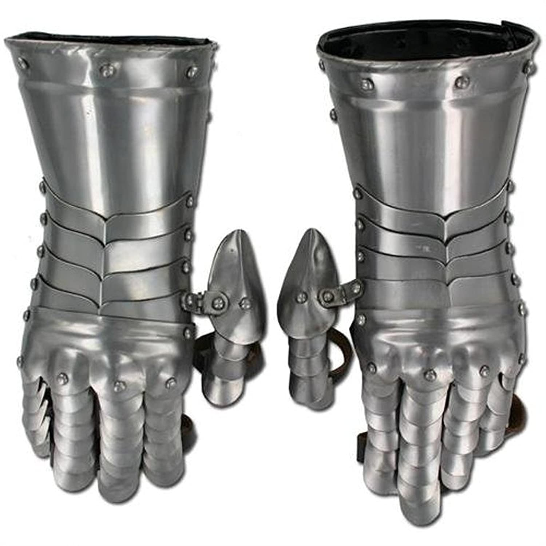Medieval Knight Gauntlets Functional Steel Armor Gloves KG1017