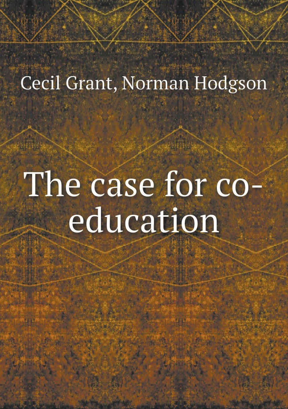 The case for co-education ebook