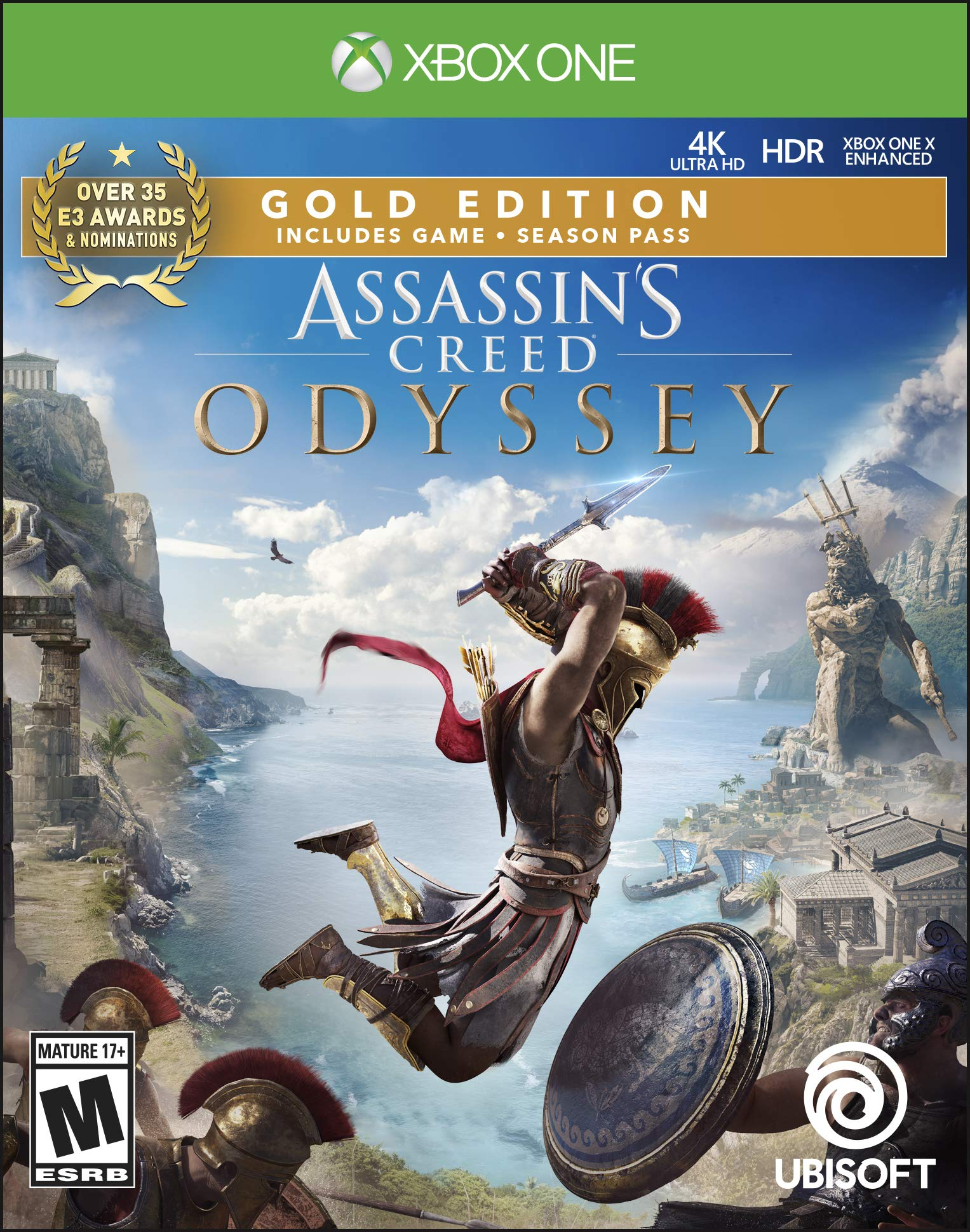 Assassin's Creed Odyssey: Gold Edition - Xbox One [Digital Code]