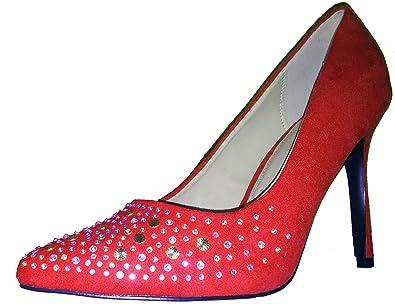 ff5cdb117ca9 3-W-Hohenlimburg Auffällige Stiletto Pumps High Heels mit Pailletten.  Damenschuhe, Schuh