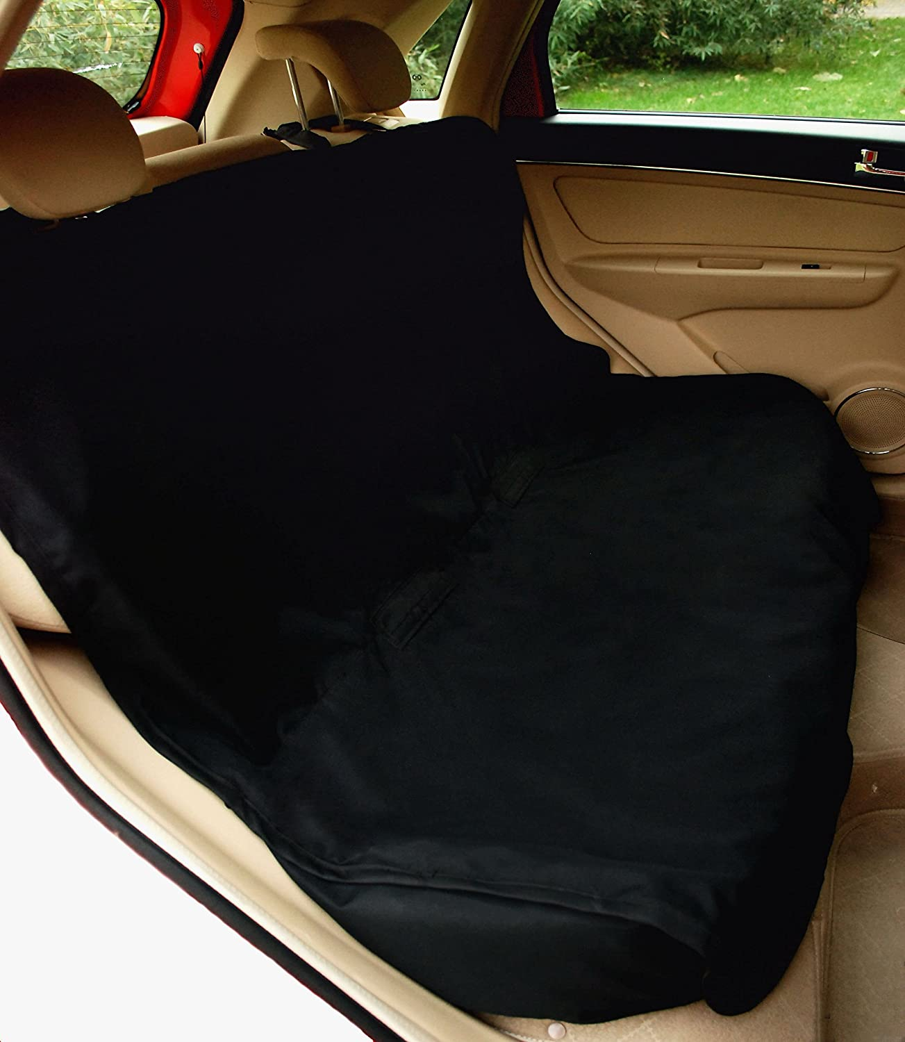 Amazon NAC&ZAC Waterproof Bench Pet Seat Cover for Cars and