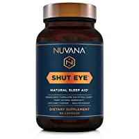 Shut Eye Natural Sleep Aid | Herbal Relaxation Supplement Made with Valerian Root...