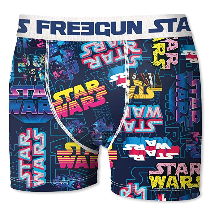 FREEGUN II Star Wars Boxer unitario Talla M para Hombre