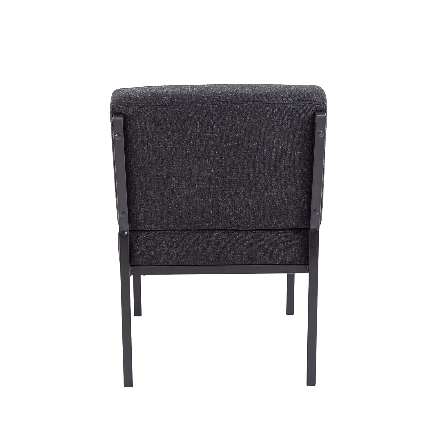 Office Hippo Unit Reception Chair Charcoal