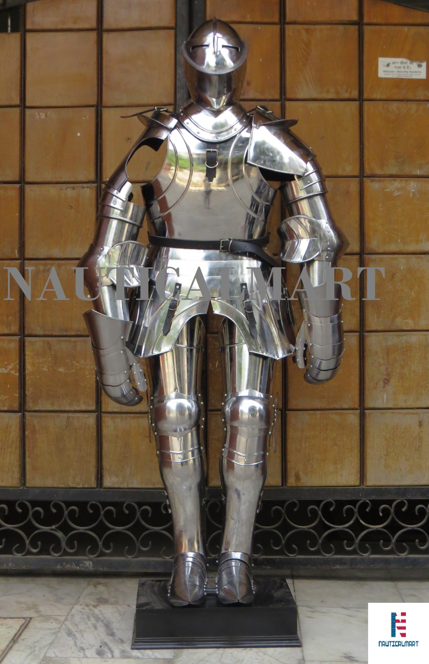 NauticalMart Medieval Gothic Knight Suit Of Armor 15th Century Combat Halloween Body Armour