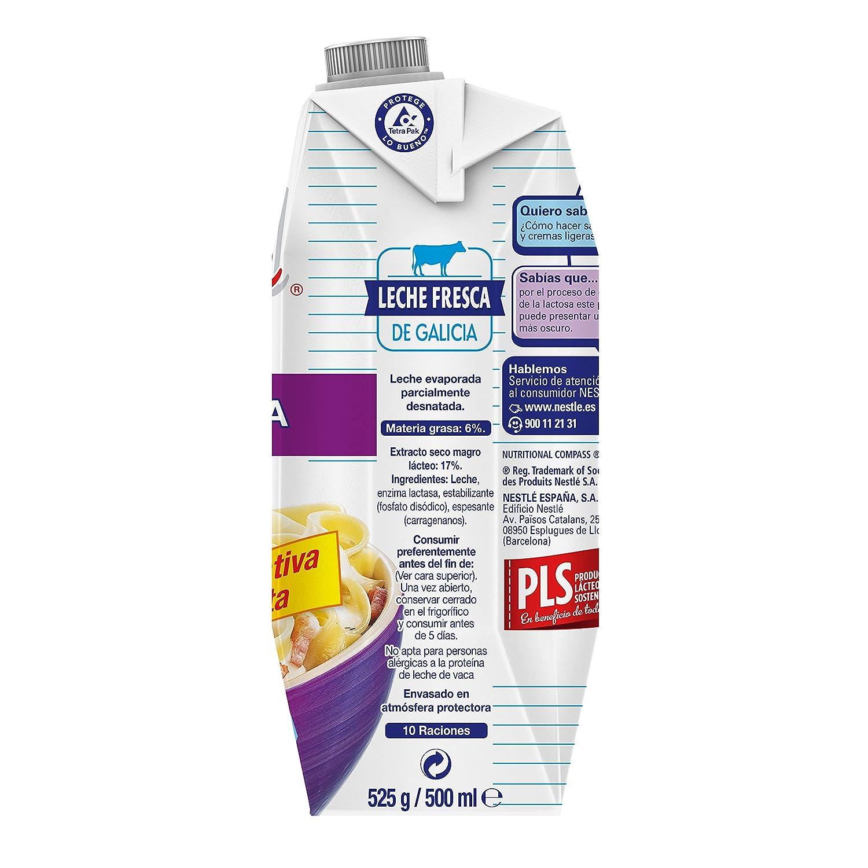 Nestlé IDEAL Leche Evaporada Sin Lactosa- Caja de 12 x 500ml (525 gr): Amazon.es: Alimentación y bebidas