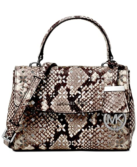 c97623cfdf27 Michael Michael Kors Women s AVA MINI PYTHON EMBOSSED CROSSBODY BAG   Amazon.ca  Shoes   Handbags