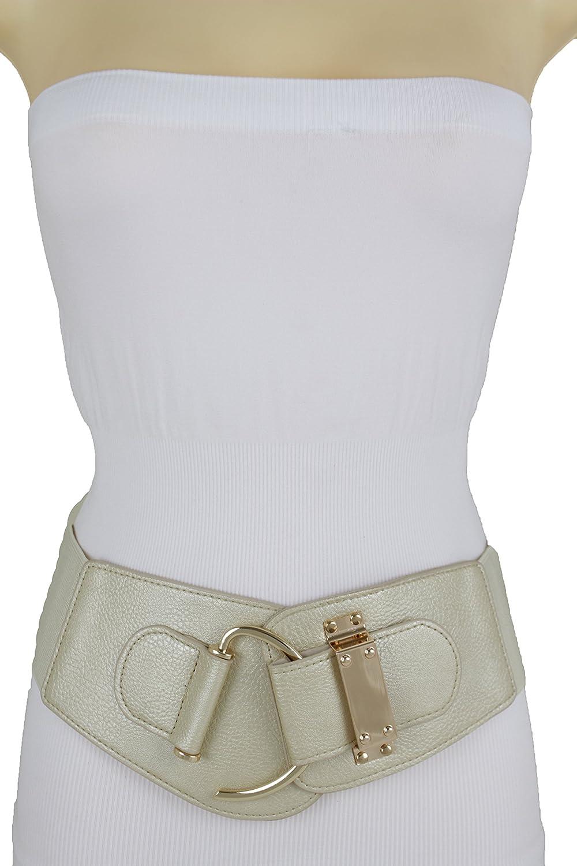 Analytical 2019 New Best Selling Loose Belt Belt Womens Rocking Chair Fashion Belt Gold Metal Rivet Wide Belt Dress Retro Style Women's Belts
