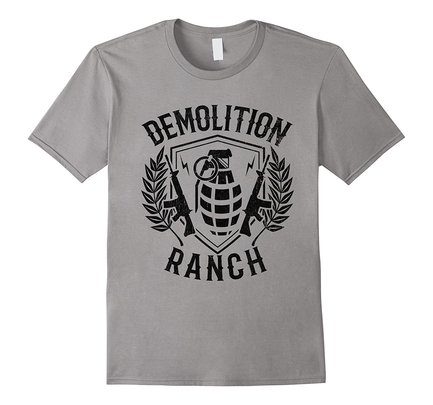 demolition ranch ar15 grenade vintage tshirt art artvinatee