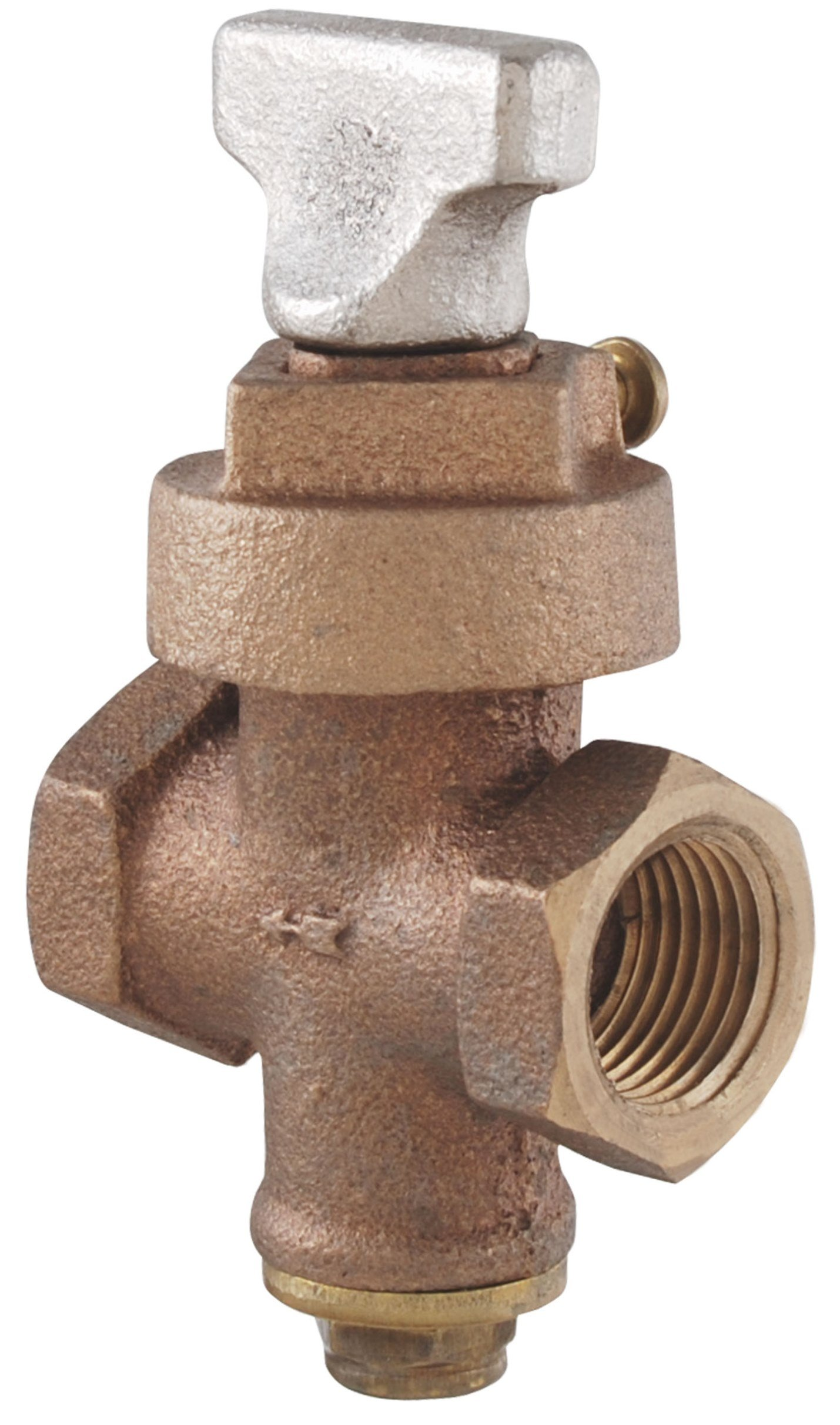 LDR 021 6904 3/4-Inch Stop and Drain Key Valve, Bronze