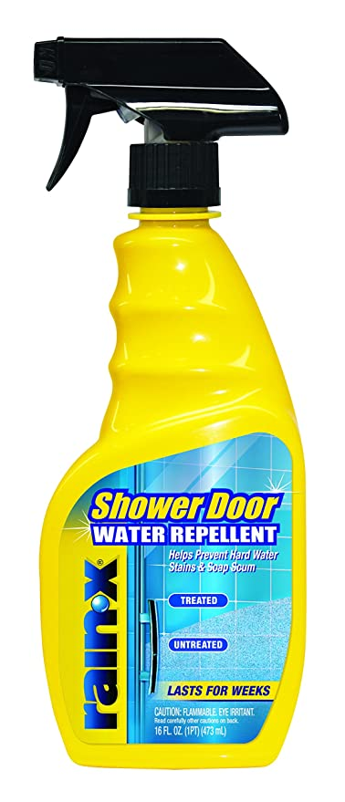 Rain-X 630023 Shower Door Water Repellent, 16 fl  oz