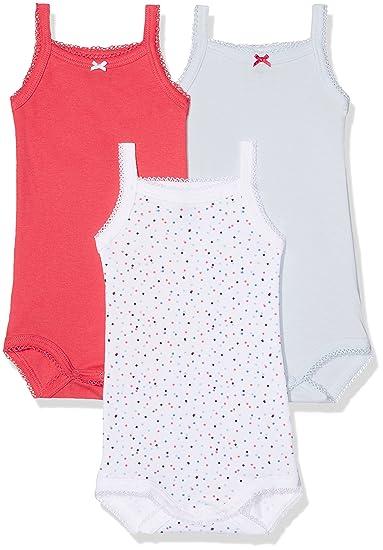 Petit Bateau Body Bébé Fille (Lot de 3)  Amazon.fr  Vêtements et accessoires 2779547e17a