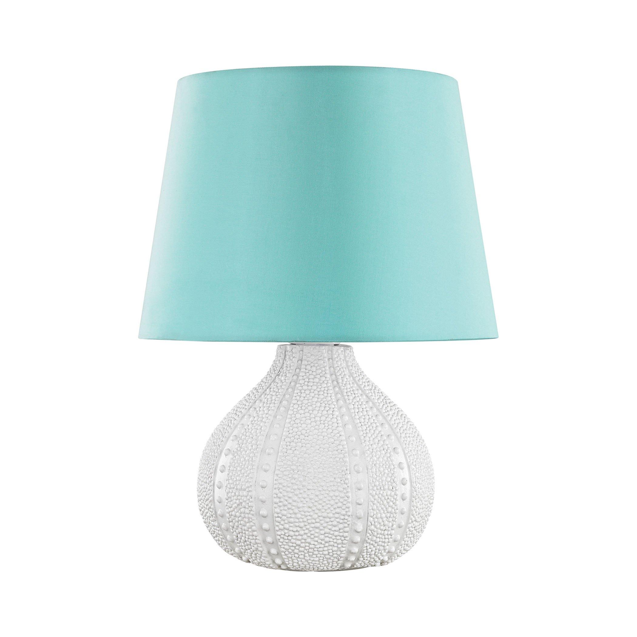 Aruba Outdoor Table Lamp With Sea Green Shade