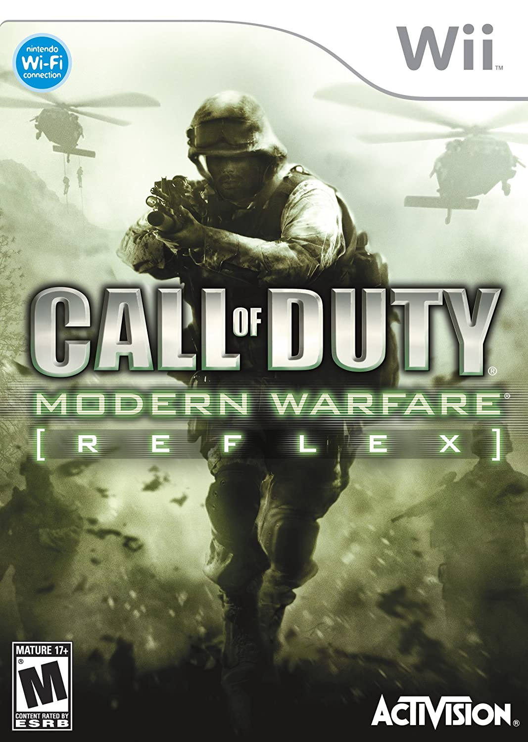 Amazon Com Call Of Duty Modern Warfare Reflex Nintendo Wii Video Games
