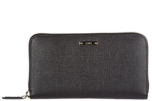 Fendi monedero cartera bifold de mujer en piel nuevo crayóns negro: Amazon.es: Zapatos y complementos
