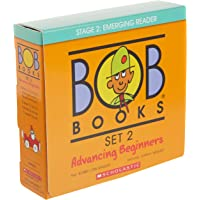Bob Books - Advancing Beginners Box Set | Phonics, Ages 4 and up, Kindergarten (Stage 2: Emerging Reader)