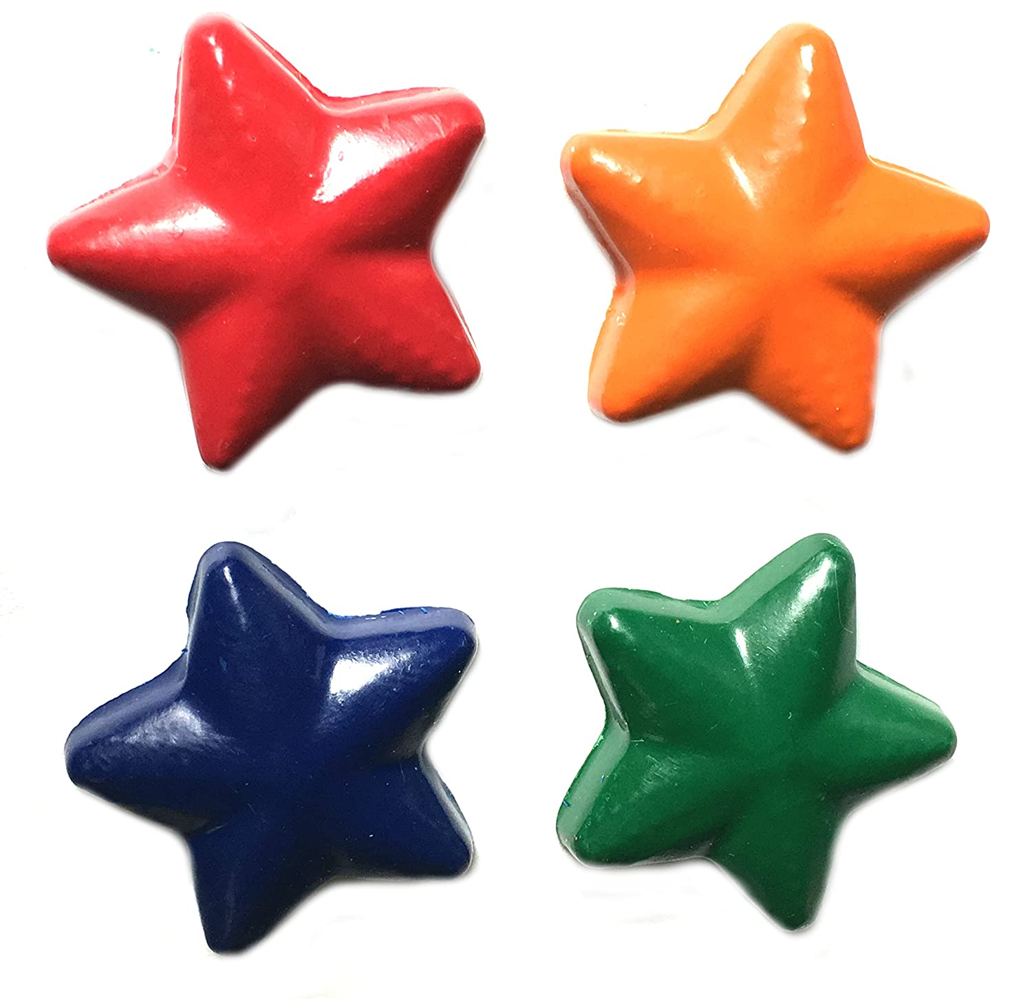48 Star Crayons by MinifigFans™ - Birthday Party Favors - 12 Sets of 4 - Made in the USA from Crayola Crayons