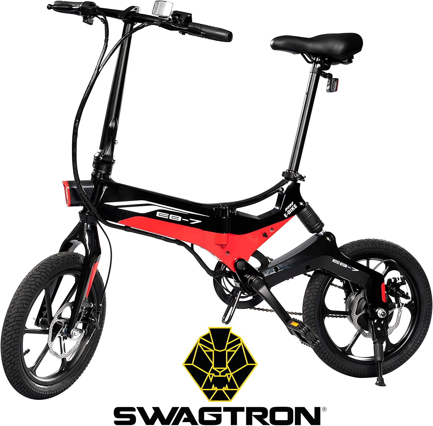 best electric bike under 1000: Swagtron Swagcycle EB-7 Elite Folding Electric Bike