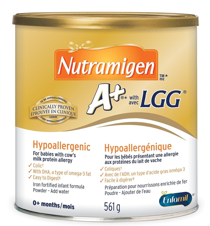 Nutramigen A+ with LGG Hypoallergenic Infant Formula, Powder, 561g Mead Johnson Nutrition