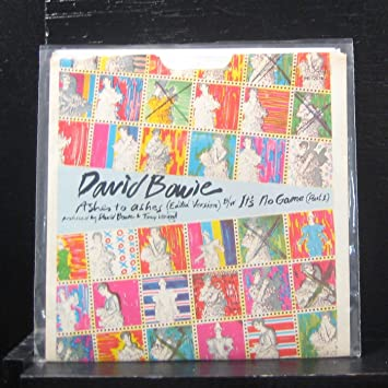 David Bowie - Ashes to ashes / It's No Game (Part 1
