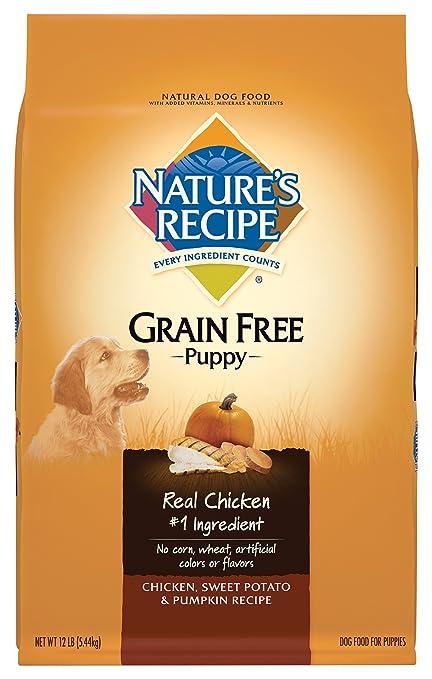 Amazoncom Natures Recipe Grain Free Puppy Food Chicken Sweet