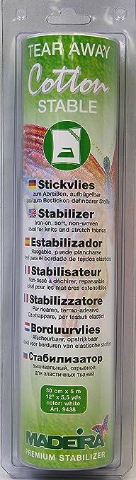 Madeira Cotton Stable Stickvlies 9438